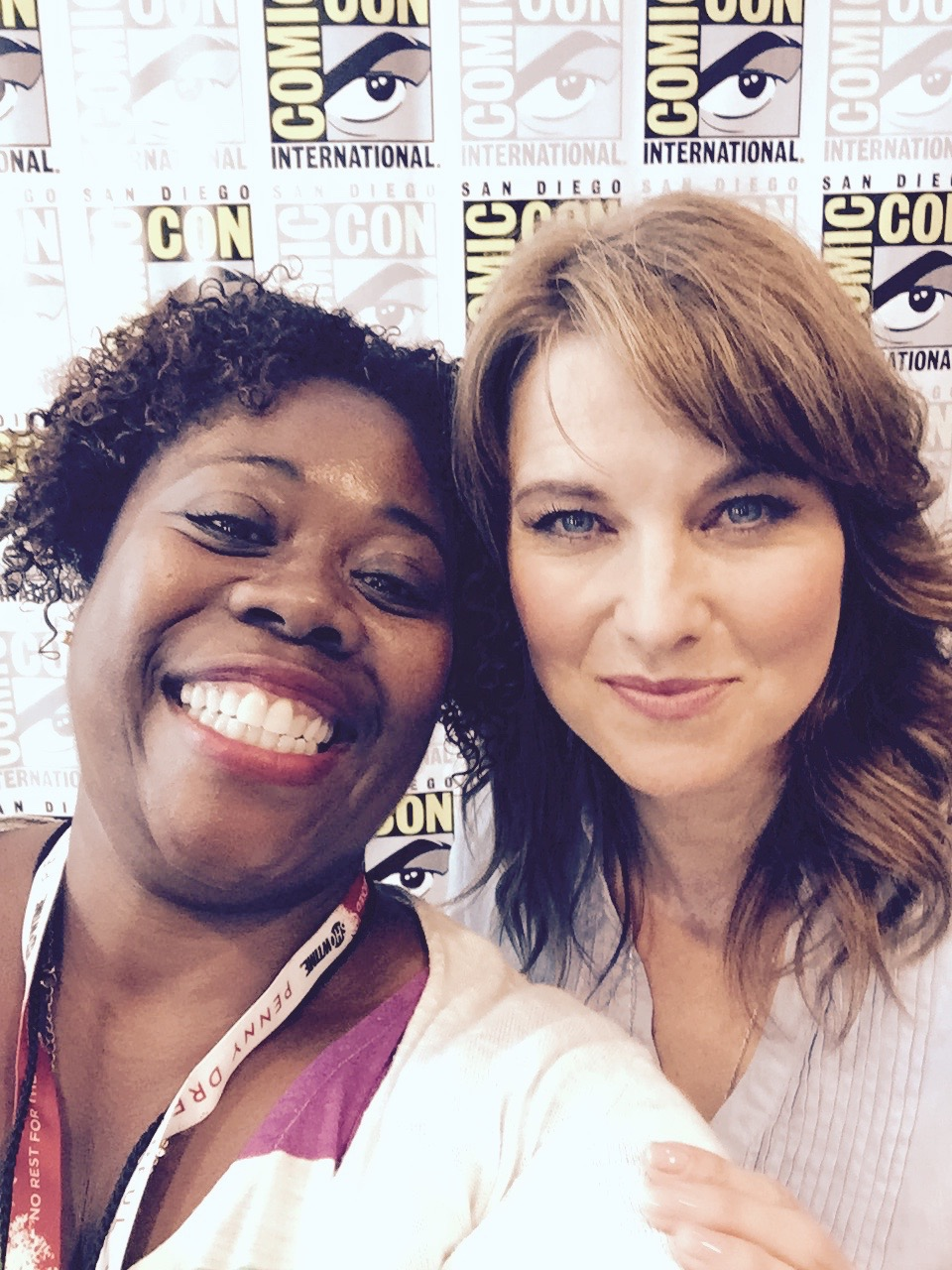 Lucy Lawless and Cherry
