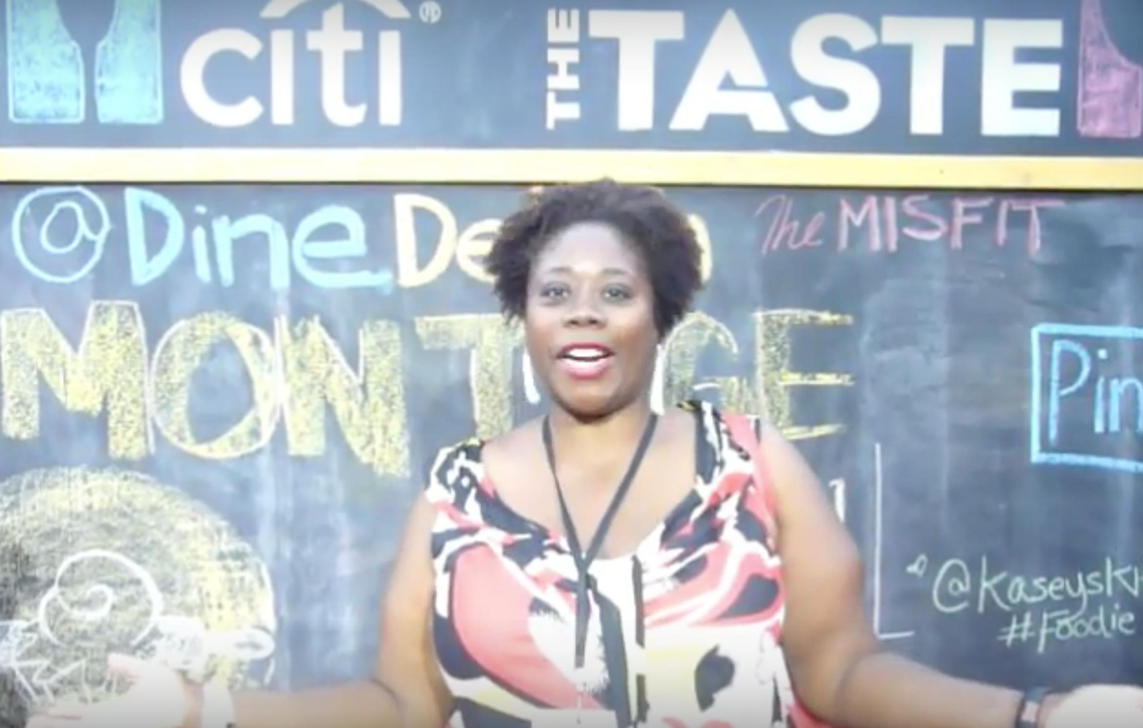 Having fun at the Los Angeles the Taste 2014