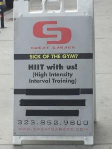 Gym review u sweat garage gym in west hollywood u cherrylosangeles