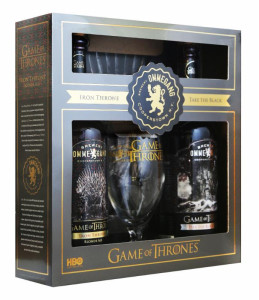 Brewery Ommegang & HBO show Game of Thrones - Iron Throne Blonde Ale and Take the Black Stout