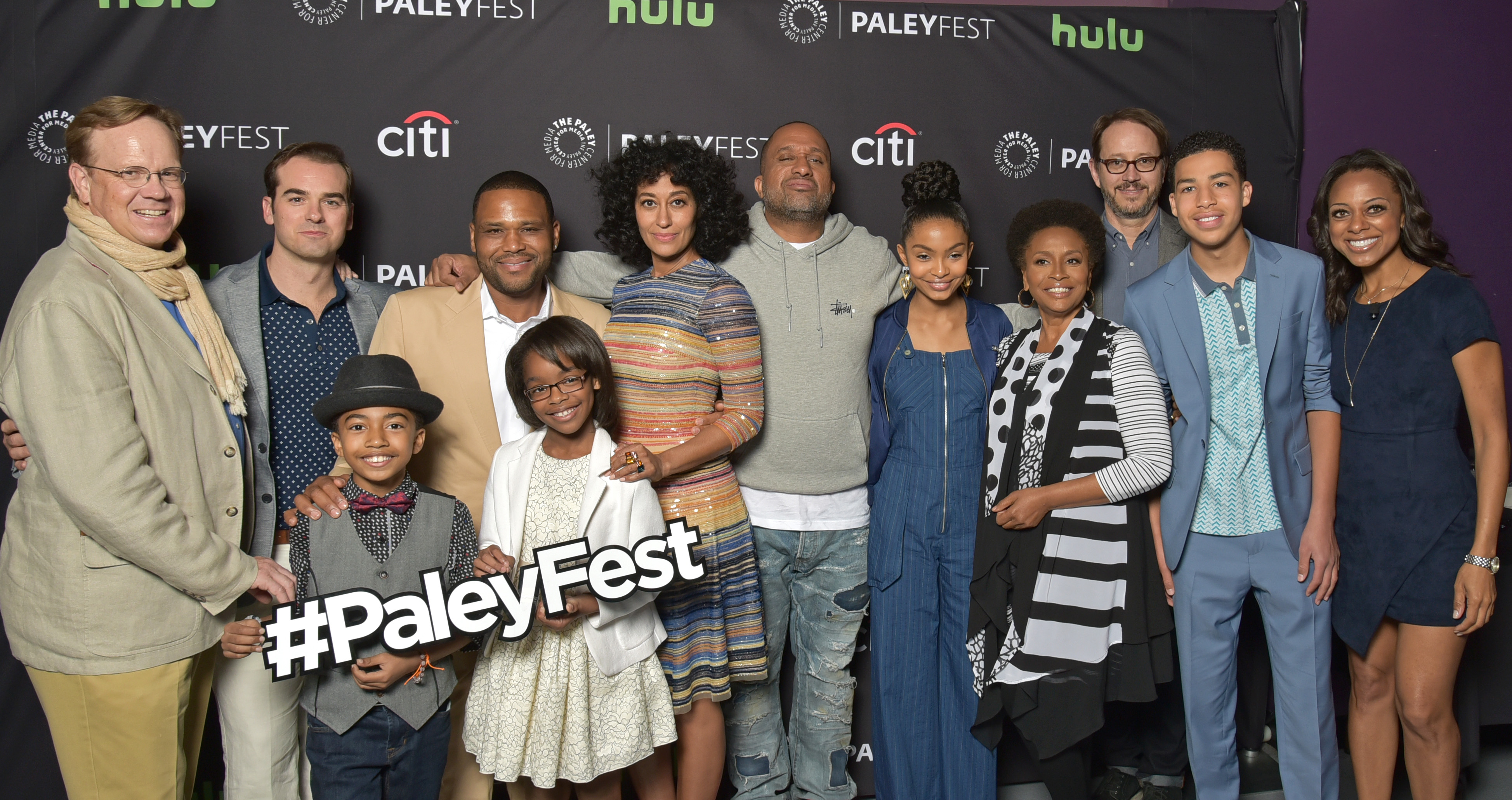 paleyfest is talking blackish with the cast team cherry the geek