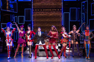 J. Harrison Ghee and Adam Kaplan in the National Tour of Kinky Boots