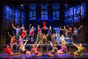 Tiffany Engen in the National Tour of Kinky Boots