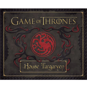 Game Of Thrones House Targaryen Deluxe Stationery Set