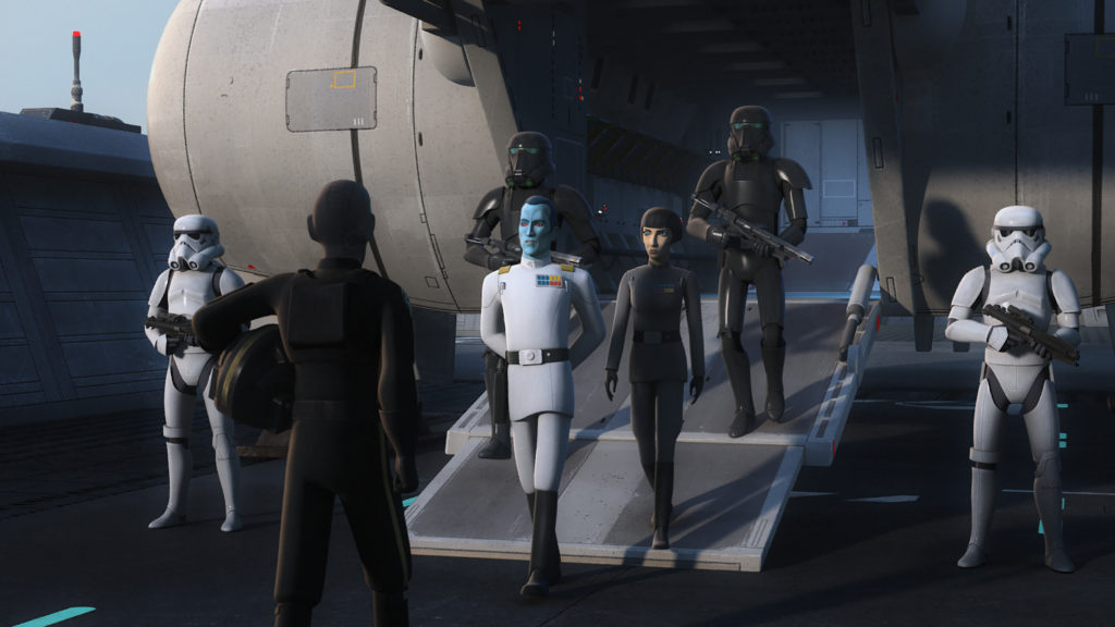Star Wars Rebels Ghost Crew are in the for the fight of their lives