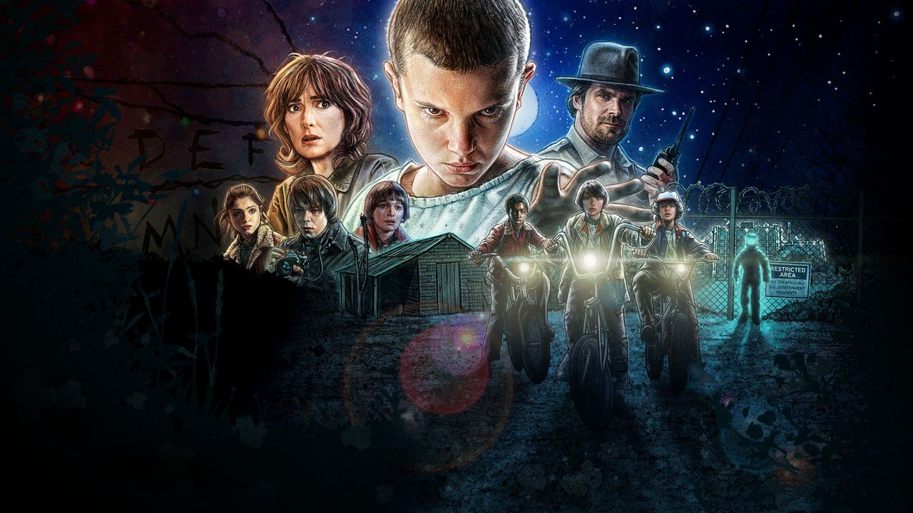Stranger Things is one of the shows featured in this year's festival.