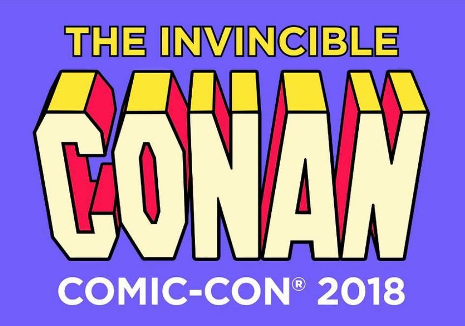 Who's Conan bringing to 2018 Comic Con?